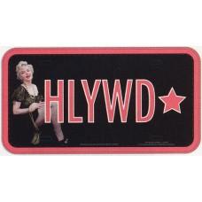 Marilyn Monroe Hollywood Star License Plate