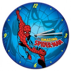 Amazing Spiderman Wood Wall Clock