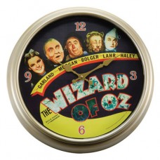 Wizard of Oz Characters Wall Clock AS IS