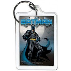 Batman Standing with Moon KeyChain