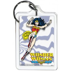 Wonder Woman Purple Lines KeyChain