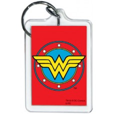 Wonder Woman Logo Red KeyChain