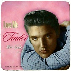 Elvis Love Me Tender Coaster Set