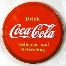 Drink Coca Cola Round Magnet