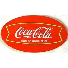 Coca Cola Good Taste Oval Magnet