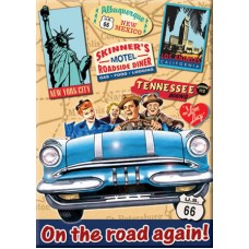 I Love Lucy On the Road Magnet