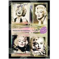 Marilyn Monroe Thanks for the Memories Magnet