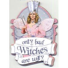 Wizard of Oz Glinda Bad Witches Die Cut Magnet