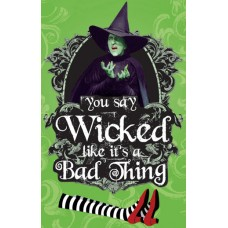 Wizard of Oz Wicked Bad Thing Die Cut Magnet Set