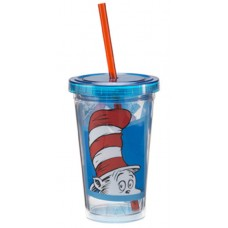 Cat in the Hat Insulated Cup 12 Ounce