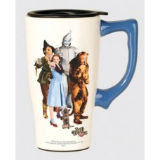 Wizard of Oz Characters Travel Mug