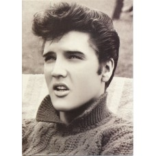 Elvis Presley Squinting Greeting Card