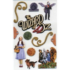 Wizard of Oz 3-D Sticker Set