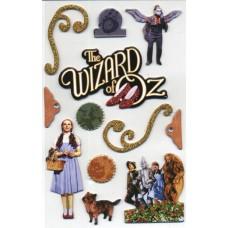 Wizard of Oz 3-D Sticker Set