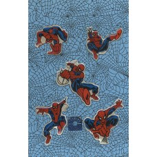 Spiderman Five Piece Puff Sticker Set