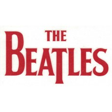 Beatles Logo Rub-On Sticker