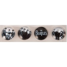 The Beatles Young Glass Magnets Set