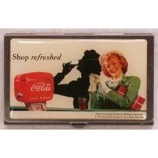 Coca Cola Business Card Tin Box
