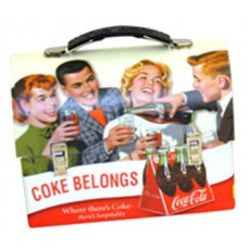 Coke Belongs Lunch Box