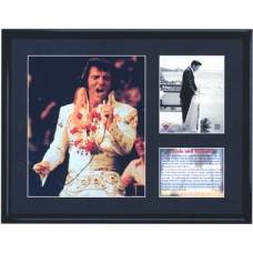 Elvis Hawaii Framed Print Large