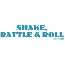Shake, Rattle & Roll Wall Sticker