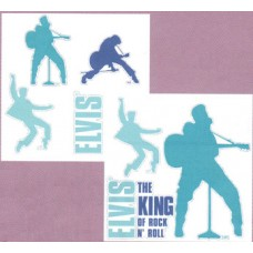 Elvis The King Wall Sticker Set