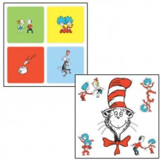 Cat in the Hat Sticker Set