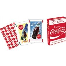 Coca Cola Logo Playing Cards