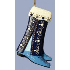 Pants and Blue Suede Shoes Ornament