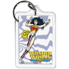 Wonder Woman Purple Lines KeyChain