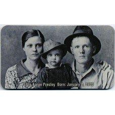Elvis Presley Family Portrait 1935 Magnet