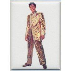 Elvis Presley Gold Lame Magnet