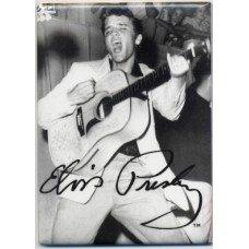 Elvis Presley Guitar Magnet