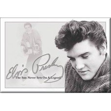 Elvis Presley Sun Never Sets Magnet