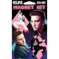 Elvis Presley Dance Portrait  Magnet Set