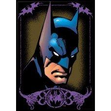 Batman in Purple Frame Refrigerator Magnet