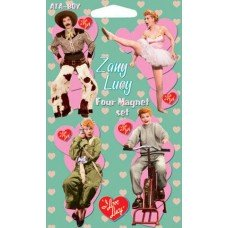 I Love Lucy Zany Magnet Set