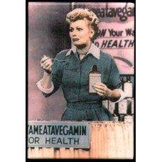 I Love Lucy Vitameatavegamin Magnet