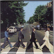 Beatles Abbey Road Magnet