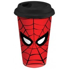 Spiderman Double Wall Ceramic Travel Cup