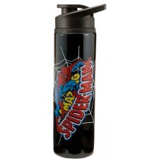 Amazing Spiderman Black Water Bottle