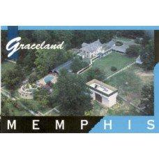 Graceland Aerial Postcard