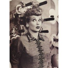 I Love Lucy Knives Greeting Card