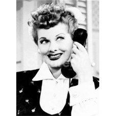 I Love Lucy Telephone Greeting Card
