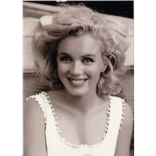 Young Marilyn Greeting Card