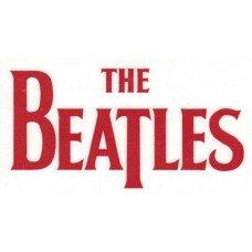 Beatles Logo Rub-On Sticker