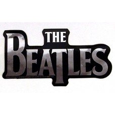 Beatles Logo Chrome Sticker