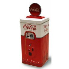 Coca Cola Vending Machine Tin Bank