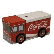 Coca Cola Truck Tin Bank