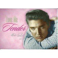 Elvis Presley Love Me Tender Postcard